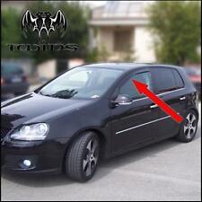 Déflecteurs de vent pluie air teintées pour VW Golf V mk5 2003-2009 5p 5 portes