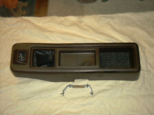 1970's,1980's Mazda B2000 Sundowner,Ford Courier center console w/ quartz clock
