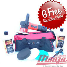 DAS6 Pro Dual Action Machine Car Polisher & Meguiars Complete Polishing Kit