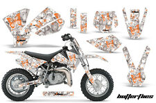 KTM Graphic Kit AMR Racing Bike Decal SX 50 Decal MX Part 02-08 BUTTERFLY ORNG