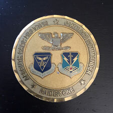 B38 612th Air and Space Operations Center Challenge Coin Commander Serialized