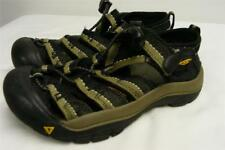youth KEEN sandals shoes BLACK BROWN EUR 31 youth sz 13 water rafting clean
