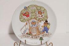 """The Berenstain Bears """"Home Sweet Tree"""" Ebeling & Reuss Vintage Plate 1983"""