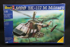 XP162 REVELL 1/32 maquette helicoptere 4486 MBB BK-117 M Military année 1989