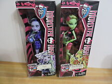 Monster High Dolls Coffin Bean Venus McFlytrap & Twyla NIB