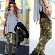 Cool Fashion Tarnung Armee Stretch Leggings Strumpfhose Hose Graffito