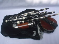 LIMITED TIME  HOLIDAY OFFER   UILLEANN  PIPES  HALF SET AFRICAN BLACK WOOD
