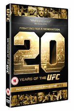 NEW & Sealed Fighting For A Generation - 20 Years Of The UFC DVD (2 Discs)