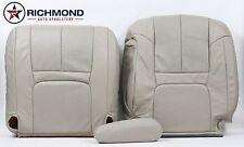 2000 Cadillac Escalade -Driver Side Complete PERFORATED Leather Seat Covers Tan