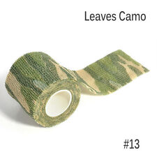 Protable Leaves Camo Wrap Rifle Shooting Hunting Camouflage Stealth Tape 4.5m FT