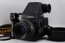 [N MINT] Bronica GS-1 w/Zenzanon-PG 100mm F3.5 AE Finder,speed Grip from japan