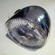 Premier 3 Led Chrome Bicycle Headlamp Front Light (Without Bracket) Retro