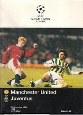 MANCHESTER UNITED v JUVENTUS 1996-97 CHAMPIONS LEAGUE