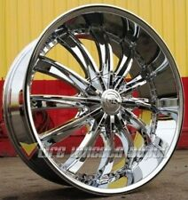 24 INCH B19 CHR RIMS AND TIRES 5X127 IMPALA SS CAPRICE GRAND CHEROKEE C10 RAM