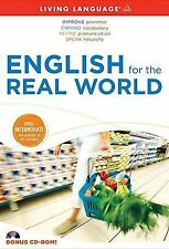 ESL Ser.: English for the Real World Set by Living Language Staff (2009,...