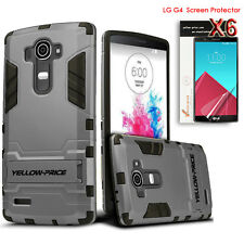 LG G4 Armor Case, LG G4 Screen Film [Heavy Protection Cover/ Military Standard ]