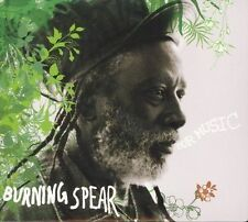 FREE US SH (int'l sh=$0-$3) USED,MINT CD Burning Spear: Our Music