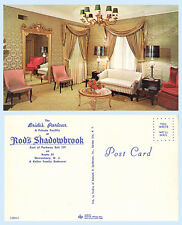 Interior Brides Parlour Rods Shadowbrook Rt 35 Shrewsbury New Jersey Postcard