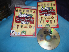 THE SIMS 2 FESTIVE HOLIDAY STUFF APPLE MAC ADD-ON PACK V.G.C. FAST POST