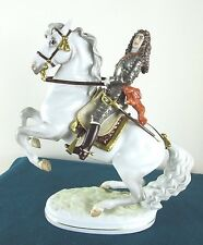 VIENNA WIEN AUGARTEN PORCELAIN HORSE PRINCE EUGENE - EXTREMELY RARE - PERFECT
