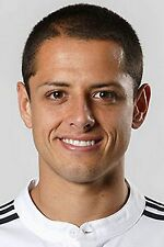 Football Photo JAVIER HERNANDEZ Real Madrid 2014-15