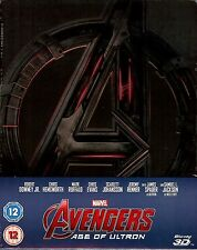Avengers: Age of Ultron Limited Edition SteelBook (Region A, B & C UK Import)