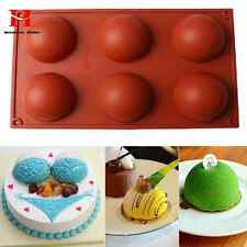 New Silicone Ball Sphere Cake Pan Baking Mold Bakeware Kitchen Mould