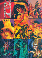 VAMPIRELLA BLOODLUST 1997 COMIC IMAGES COMPLETE BASE CARD SET OF 72 VAMPIRE MC