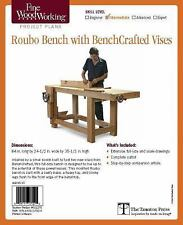 Fine Woodworking's Roubo Bench with Bench Crafted Vises Plan by Jeff Miller...