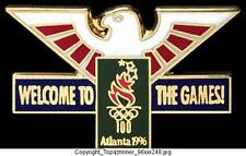 OLYMPIC PINS 1996 ATLANTA WELCOME TO THE GAMES EAGLE