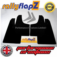 Rally Style Mud Flaps to fit TOYOTA CELICA 6th Gen (1993-1999) Mudflaps x4 Black