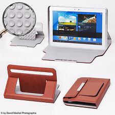 Braun Saugnapf 7 Zoll Tablet Tasche  Odys  Xelio 7 Pro 17,8 cm Schutz Hülle Case