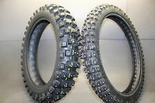 Studded Snow Winter Ice Dual Sport Adventure ADV Trail Stud Grip Dirtbike Tires