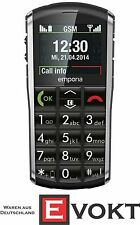 Emporia Pure Senior Phone Mobile Cell Phone Black Emergency Call SOS Genuine New