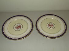 "Antique Pair of Pareek Johnson Bros. England ""Frinton"" Porcelain Dinner Plates"