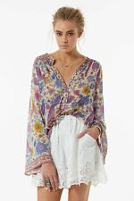 Spell & the Gypsy Collective Lovebird Blouse Chamomile - Size S BRAND NEW