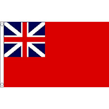 Red Ensign Colonial Flag 5Ft X 3Ft British Naval Navy Banner Armed Forces