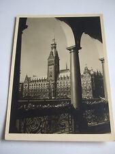 AK Hamburg Rathaus um 1952