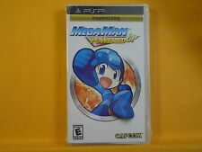 psp MEGAMAN POWERED UP Game NEW & Sealed Mega Man REGION FREE ENGLISH LANGUAGE