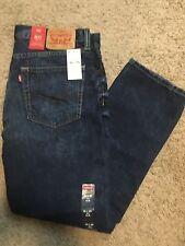 NWT Levis 511 Big Springs 32X30 - 045111792 Slim Fit Jeans Dark Blue MSRP $70