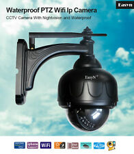 Outdoor EasyN Dome Wireless IP Camera Pan 355° Tilt 90° WiFi iPhone Android View