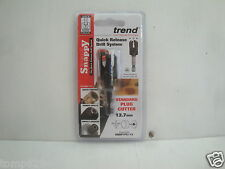 """TREND SNAPPY PC12 PLUG CUTTER 12.7MM ( 1/2"""") SNAP/PC/12"""
