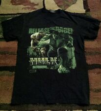 The Incredible Hulk Release The Rage T-shirt Steve & Barrys Marvel Comics Small