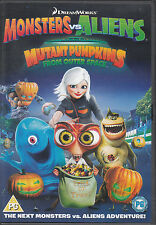 Monsters vs Aliens Mutant Pumpkins From Outer Space DVD
