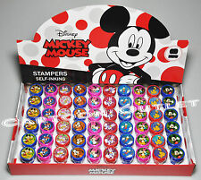 24 PC DISNEY MICKEY MINNIE MOUSE STAMPS STAMPERS PARTY FAVORS CANDY BAGS fillers