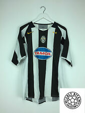 JUVENTUS 04/05 HOME FOOTBALL SHIRT europeo (L) in jersey calcio Nike TAMOIL