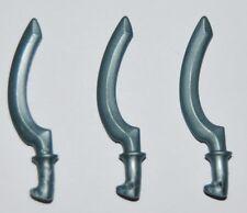 25406 Espada khopesh gris azulado egipcia 3u playmobil,sword,egypt,egyptian