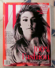 W September 2015 Hot Sexy GIGI HADID Disco Dresses CUBA RISING 100% Fashion NEW