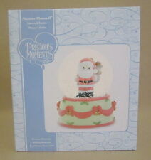 Precious Moments Annual Santa Water Globe Jolly Old Saint Nicholas NIB