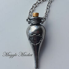 Harry Felix Felicis magic potion silver necklace liquid luck Ron Ginny hermione